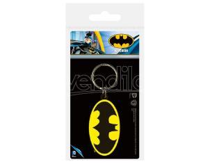 Dc Comics Portachiavi con Simbolo di Batman in Gomma Pyramid International