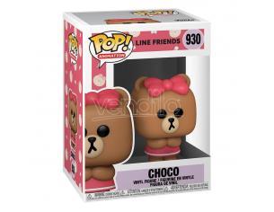 Line Friends Animazione Funko Pop Vinile Figura Choco 9 Cm