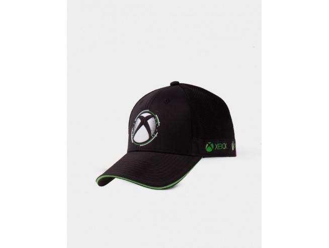 Xbox White Dots Simbolo Cappellino Difuzed