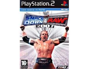 WWE SMACKDOWN VS RAW 2007 SPORTIVO PLAYSTATION 2 OLD GEN