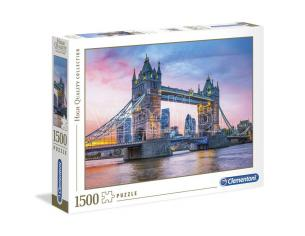 Tower Bridge Sunset High Quality Puzzle 1500 Pezzi Clementoni