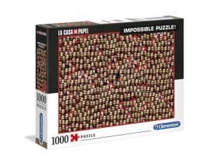 Money Heist Impossible Puzzle 1000 Pezzi Clementoni