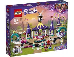 LEGO FRIENDS 41685 - MONTAGNE RUSSE DEL LUNA PARK MAGICO
