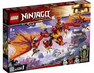 LEGO NINJAGO 71753 - L'ATTACCO DEL DRAGONE DEL FUOCO