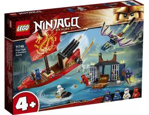 LEGO NINJAGO 71749 - IL VOLO FINALE DEL VASCELLO DEL DESTINO