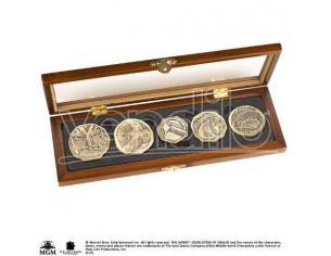 The Hobbit Dwarven Treasure Coin Set Noble Collection