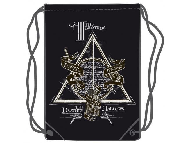 Harry Potter Doni Della Morte Borsa Palestra 45cm Warner Bros.