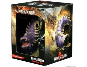 D&d Icons Of The Realms: Fangs E Talons - Premium Set: Purple Worm Wizbambino