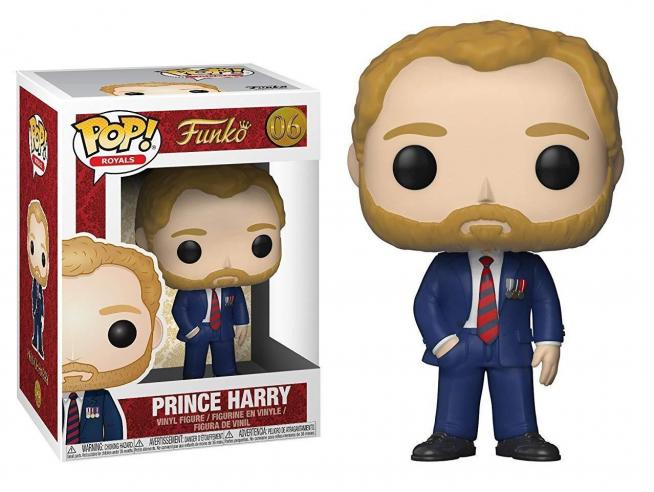 Famiglia Reale Funko POP Royals Vinile Figura Principe Harry 9 cm