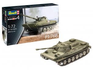 REVELL RV03314 CORAZZATO PT-76B KIT 1:72 Modellino