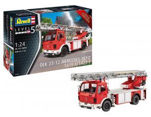 REVELL RV07504 FIRE ENGINE MERCEDES 1419 F/1422 F KIT 1:24 Modellino