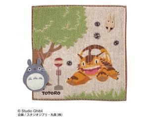 Totoro Bus Stop Mini Telo Mare Asciugamano  Marushin