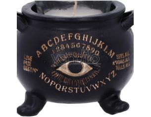 All Seeing Calderone Candle Holder 9cm Portacandela Nemesis Now