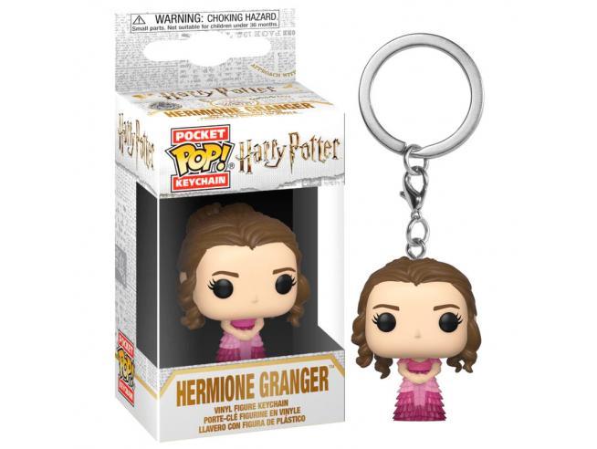 Harry Potter Pocket Pop Portachiavi Vinile Figura Hermione Granger