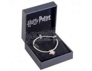 Harry Potter Braccialetto di Perle in Argento e Elementi in Cristallo con Ciondolo Pozione d'Amore Carat ShopSterling