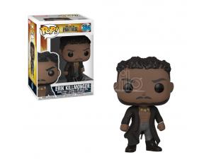 Marvel Black Panther Funko Pop Film Vinile Figura Killmonger con Cicatrici 9 cm