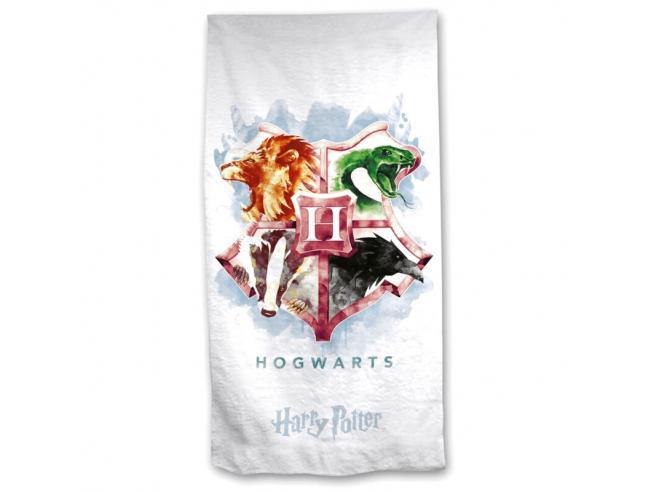Harry Potter Hogwarts Cotone Telo Mare Asciugamano  Warner Bros.
