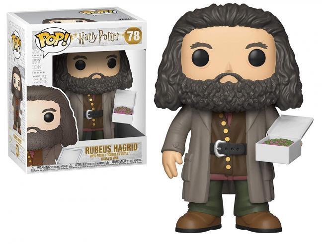 Harry Potter Funko POP Film Vinile Figura Hagrid Con Torta 14 Cm