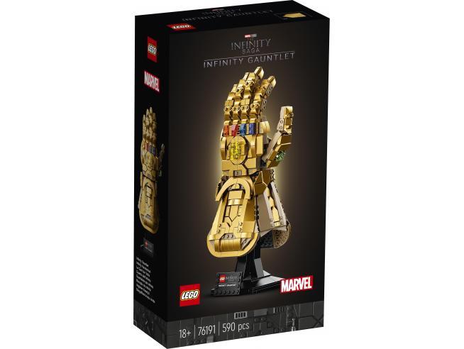 LEGO SUPER EROI 76191 - GUANTO DELL'INFINITO