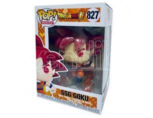 Dragon Ball Funko POP Animazione Vinile Figura Super Saiyan God Goku con Fiamme 9 cm Esclusiva