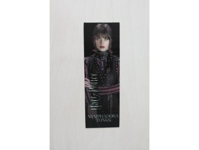 Harry Potter Bacchetta Magica Nymphadora Tonks + Segnalibro 3d Noble Collection