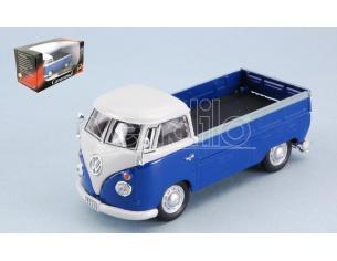 CARARAMA CA251PND5B VW T1 PICK UP 1960 BLUE/WHITE 1:43 Modellino