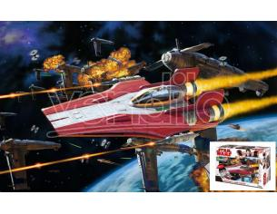 REVELL RV06759 STAR WARS RESISTANCE A-WING FIGHTER KIT 1:44 Modellino
