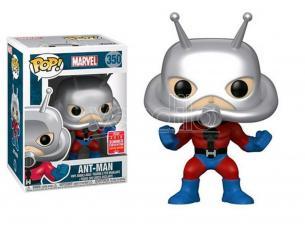 Marvel Funko POP Super Eroi Vinile Figura Ant-Man 9 cm SDCC Esclusiva SCATOLA ROVINATA