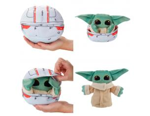 Star Wars The Mandalorian Baby Yoda Transform Peluche Hasbro