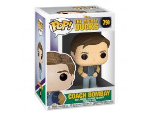 Mighty Ducks Pop! Disney Vinile Figura Coach Bombay 9 Cm Funko