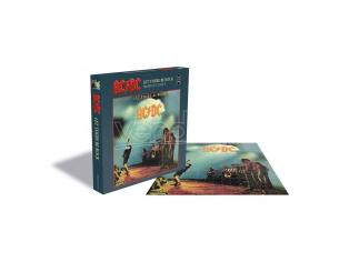 AC/DC Rock Saws Jigsaw Puzzle Let There Be Rock (500 Pieces) PHD Merchandise