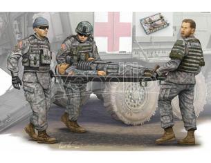 Trumpeter Tp0430 Figura Modern Us Army Ambulance Team Kit 1:35 Modellino