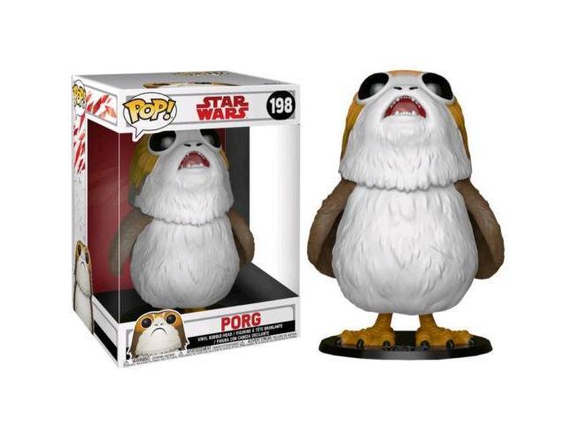 Star Wars Episodio 8 Funko POP Film Vinile Figura Porg 25 cm Esclusiva SCATOLA ROVINATA
