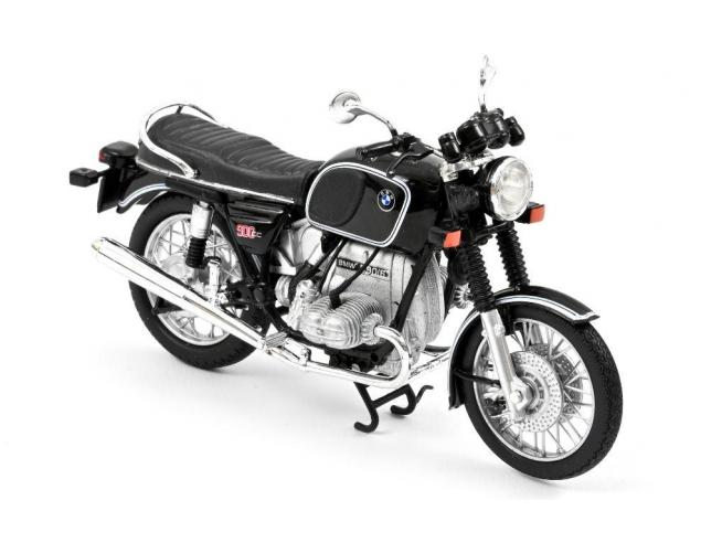 NOREV NV182035 BMW R90/6 1974 BLACK 1:18 Modellino