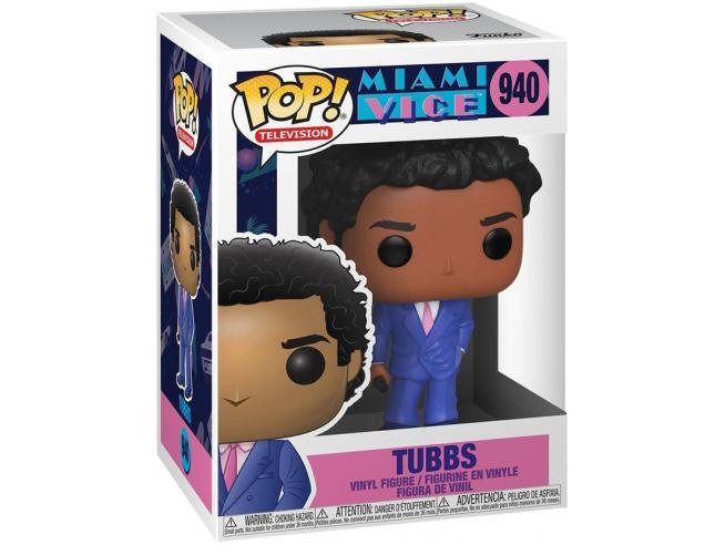 Miami Vice Funko Pop Tv Vinile Figura Tubbs 9 Cm