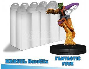 Fantastici 4 Booster Brick Personaggio a Sorpresa Gioco Da Tavolo Wizbambino Scatola Rovinata