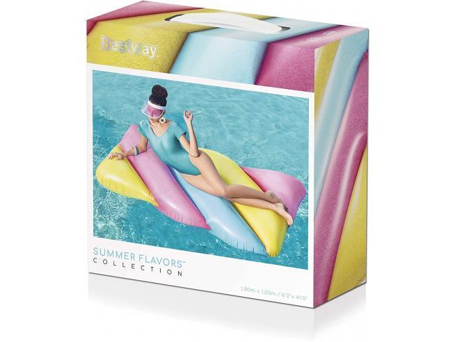 Materassino Fashion Marshmallow 169 x 91 x 30 cm Bestway 43187