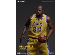 NBA Collection Real Masterpiece Actionfigur 1/6 Shaquille O'Neal 37 Cm Enterbay