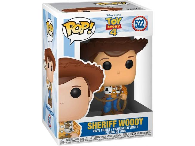 Toy Story 4 Funko Pop Disney Vinile Figura Woody 9 cm