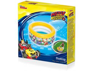 Piscina 3 Anelli Baby Mickey Mouse 70 x 30 cm Bestway 91018