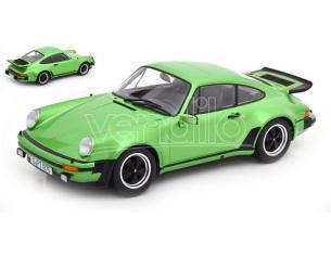 KK SCALE KKDC180573 PORSCHE 911 (930) TURBO 3.0 1978 METALLIC GREEN 1:18 Modellino
