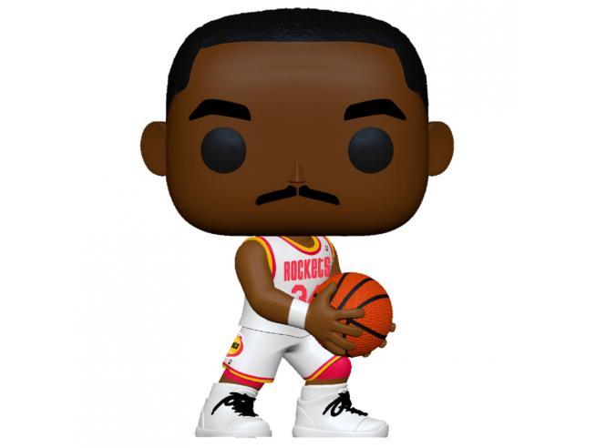 Pop Figura Nba Legends Hakeem Olajuwon Rockets Home Funko