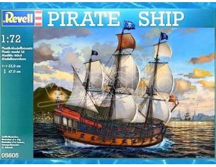 Revell RV05605 PIRATE SHIP KIT 1:72 Modellino