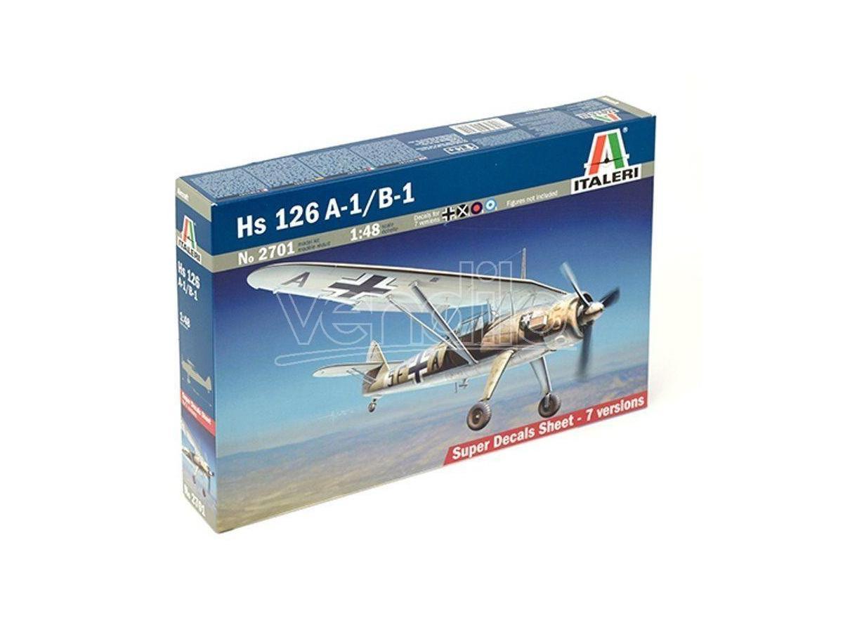 ITALERI 2701 OH 58D KIOWA 1:48 Kit Modellino