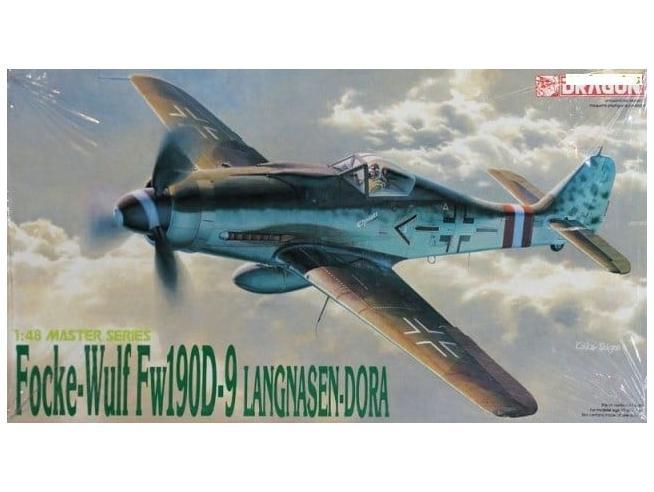 Dragon 5503 FOCKE WULF FW190D-9 LANGNA-DORA 1:48 Modellino