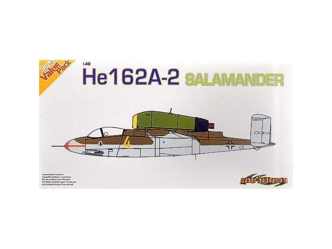 Dragon 5564 HE162A-2 SALAMANDER 1:48 Modellino