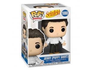 Seinfeld Funko Pop Tv Vinile Figura Jerry con Camicia a Sbuffo 9 Cm