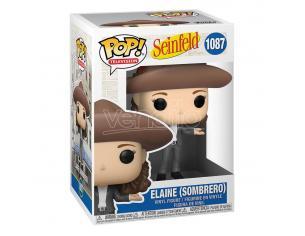 Seinfeld Funko Pop Tv Vinile Figura Elaine In Sombrero 9 Cm