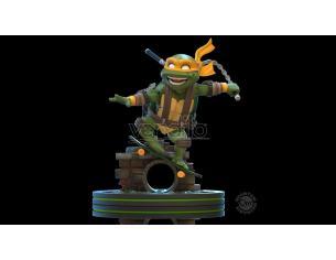 Teenage Mutant Ninja Turtles Q-fig Figura Michelangelo 13 Cm Quantum Mechanix