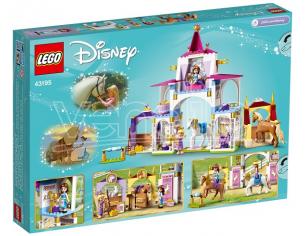 LEGO DISNEY PRINCESS 43195 - LE SCUDERIE REALI DI BELLE E RAPUNZEL